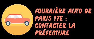 fourrière paris 17 préfecture