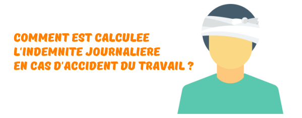 indemnite journaliere accident travail