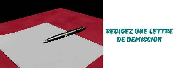 rediger-lettre-demission