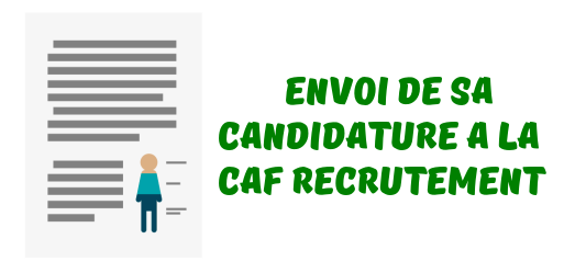 CAF candidature