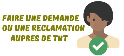 TNT reclamation colis