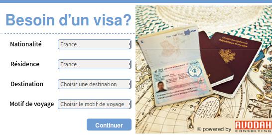 service obtention visa