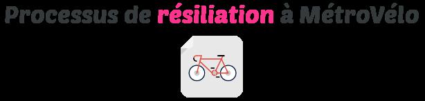 resiliation metrovelo