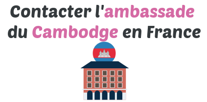 contact ambassade cambodge