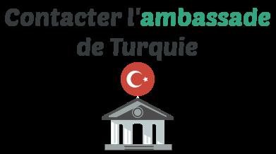 contacter ambassade turquie