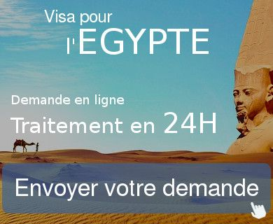 demande visa egypte