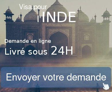 demande visa inde