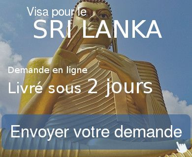 demande visa sri lanka