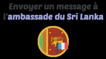 message ambassade sri lanka