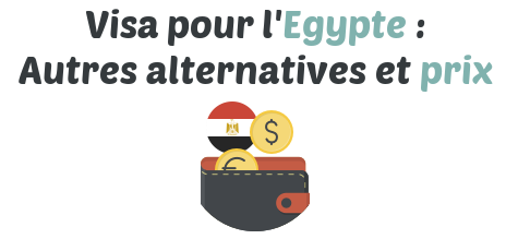 visa egypte prix conditions