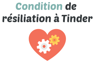 condition resiliation tinder