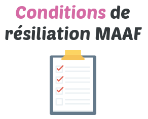 conditions resiliation maaf
