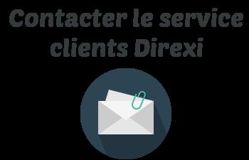 contacter service client direxi