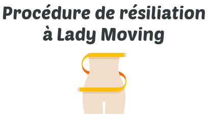 procedure resiliation lady moving