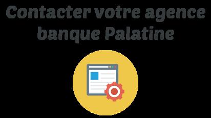 contact agence banque palatine