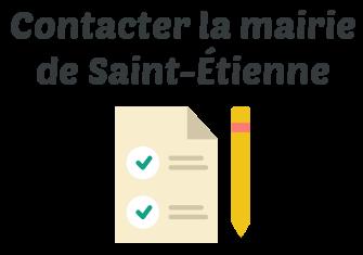 contacter mairie saint etienne