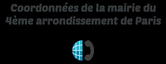 coordonnees mairie paris 4