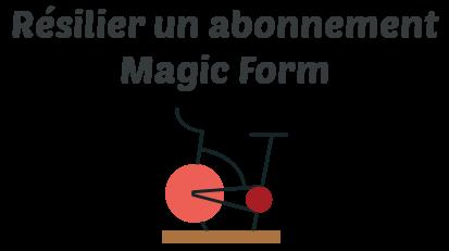 resilier abonnement magic form