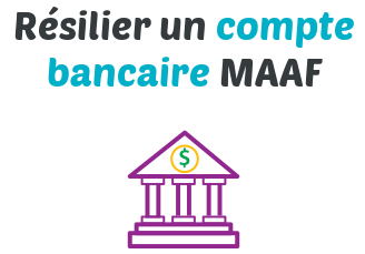 resilier compte bancaire maaf