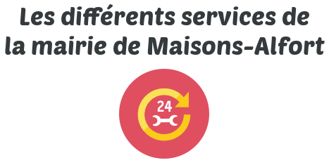 service mairie maisons alfort