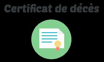 certificat deces