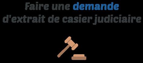 demande extrait casier judiciaire marseille