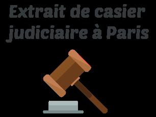 extrait casier judiciaire paris