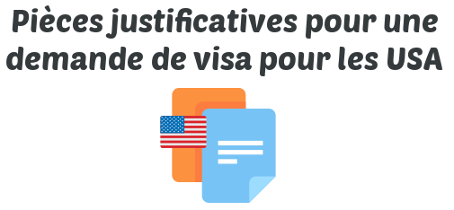 piece justificative visa usa