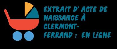 acte naissance clermont-ferrand