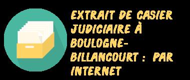 casier judiciaire boulogne-billancourt