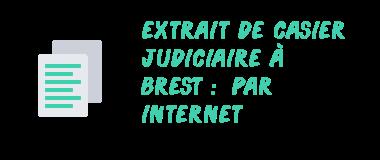 casier judiciaire brest internet