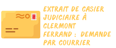 casier judiciaire clermont-ferrand courrier