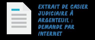 argenteuil casier judiciaire internet
