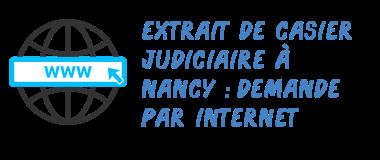 casier judiciaire nancy internet