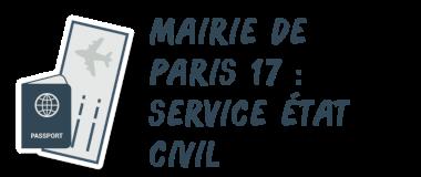 mairie paris 17 état civil