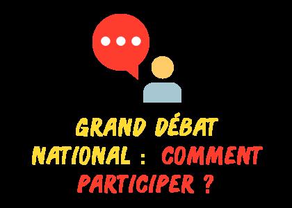 grand débat participer