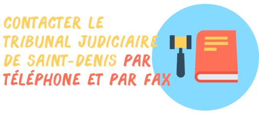 contacter tribunal judiciaire saint-denis