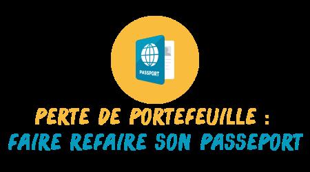perte portefeuille passeport