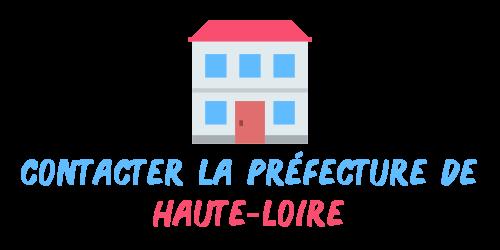 contact préfecture Haute-Loire