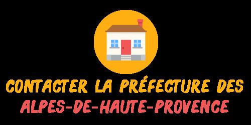 contact préfecture Alpes-de-Haute-Provence