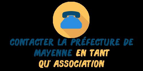 association contact préfecture mayenne