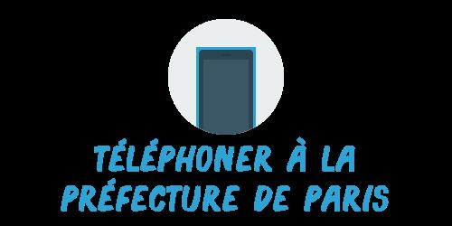 téléphoner préfecture paris