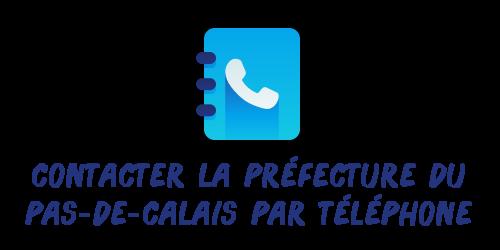 téléphone préfecture pas-de-calais