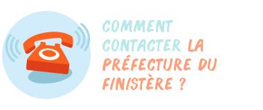 contacter préfecture Finistère