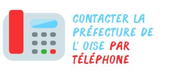 contacter préfecture oise téléphone