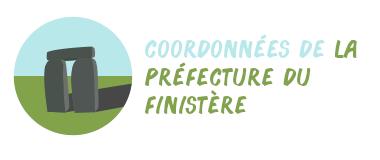 coordonnées préfecture Finistère