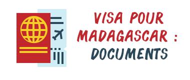 visa madagascar documents