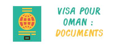 visa oman documents
