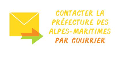 courrier préfecture Alpes-Maritimes