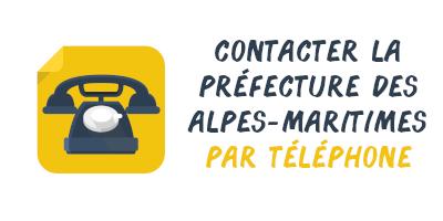 téléphone préfecture Alpes-Maritimes